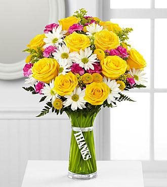Le bouquet Merci de FTD<sup>®</sup>