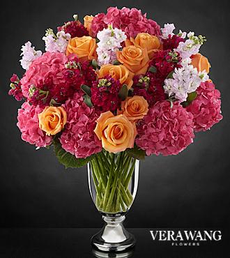 Le luxueux bouquet assorti Astonishing™ de FTD® par Vera Wang - VASE INCLUS