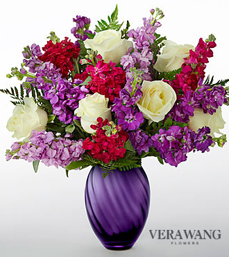 The FTD® Spirited ™ Bouquet by Vera Wang - VASE INCLUDED