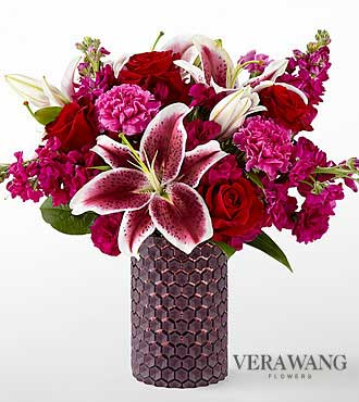 The FTD® Vibrant Fuchsia™ Bouquet by Vera Wang