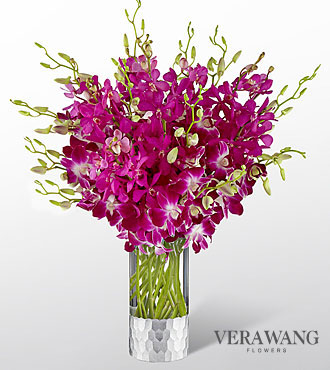 The FTD® Orchid Bouquet by Vera Wang