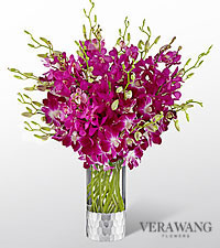The FTD® Orchid Bouquet by Vera Wang-VASE INCLUDED