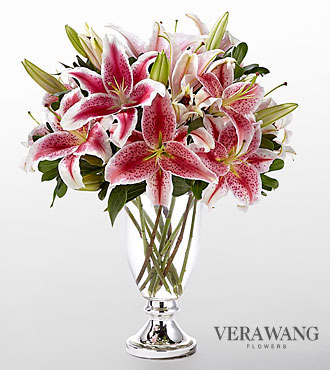 The FTD® Stylish Stargazer™ Bouquet by Vera Wang - VASE INCLUDED