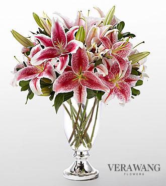 Le bouquet Stylish Stargazer™ par Vera Wang de FTD® - VASE INCLUS