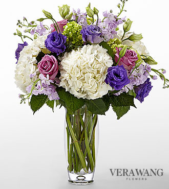 Le bouquet Traditions™ de FTD® par Vera Wang - VASE INCLUS