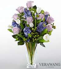 Vera Wang Woodland Whimsy Bouquet - VASE INCLUDED