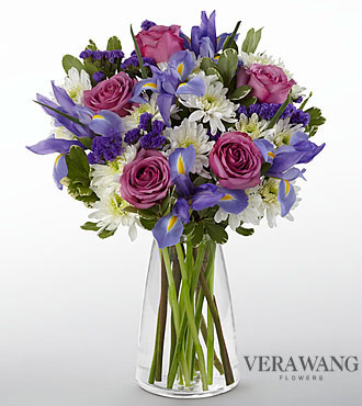 Vera Wang Sweet Sophistication Bouquet - VASE INCLUDED