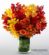 Vera Wang Sun Crush Fashion Bouquet - VASE INCLUDED