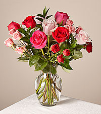 Sweetheart Mixed Rose Bouquet