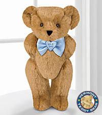 Vermont Teddy Bear® 15-inch 'Its a Boy!' Bowtie Bear