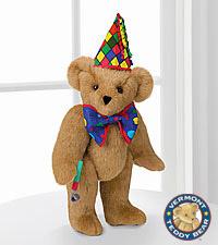 Vermont Teddy Bear® 15-inch Celebration Bear