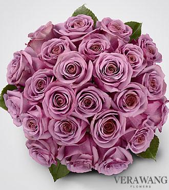 Vera Wang Lavender Rose Bouquet - 24 Stems  Premium Roses - No Vase