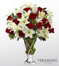 The FTD® Grand Occasion™ Bouquet by Vera Wang- VASE INCLUDED