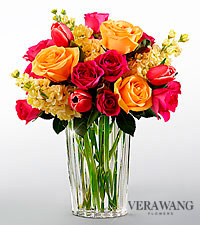 The FTD® Beauty and Grace™ Bouquet by Vera Wang - VASE INCLUDED