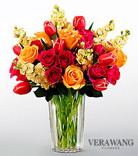 Le bouquet Beauty and Grace™ de FTD® par Vera Wang - VASE INCLUS