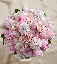 The FTD® Dawn Rose™ Bouquet