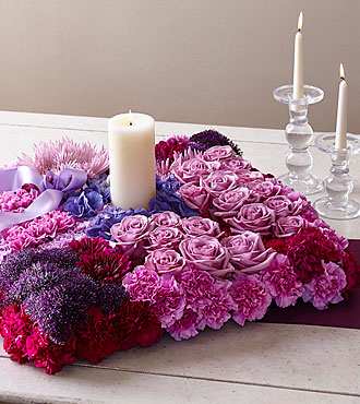 The FTD® Promise of Love™ Unity Arrangement