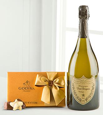 Dom Perignon & Godiva® Truffles