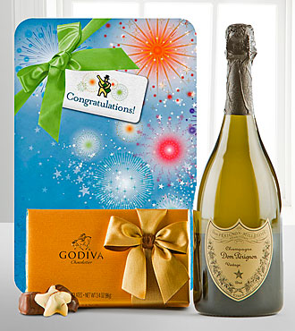 Celebrate with Dom Perignon & Godiva®