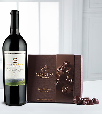 Perfect Selection Napa Valley Cabernet & Godiva® Gift Set