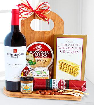 Gourmet Wine & Cheese Board - Better