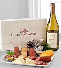 Hickory Farms Here's To The Holidays Basket
