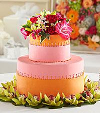 The FTD® Sweet Citrus™ Cake Décor