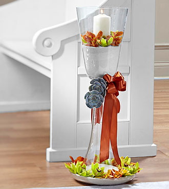 The FTD® Matrimony Pew Décor