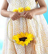 Le bouquet de bouquetière Sweet Sunshine™ de FTD®