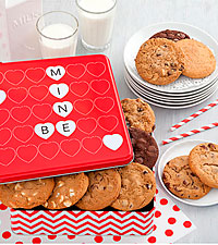 Mrs. Fields®  Be Mine Valentine Cookie Tin