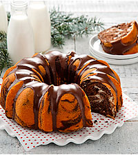 Mrs. Fields® Vanilla Chocolate Marbled Bundt Cake