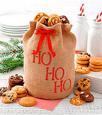 Mrs. Fields® HO HO HO Sack - 24 ct