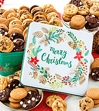 Merry Christmas 90 Nibbler Tin