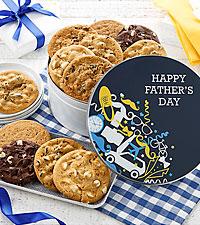 Mrs. Fields® Best Ever Dad 12 Cookie Tin