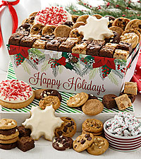 Mrs. Fields® Happy Holiday's Cookie Crate