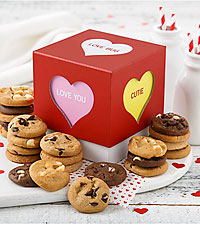 Mrs. Fields®  Valentine's Day Nibbler Cookie Box