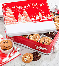 Mrs. Fields® Holiday Cookie Tin