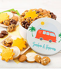Sunshine & Happiness Cookie Tin