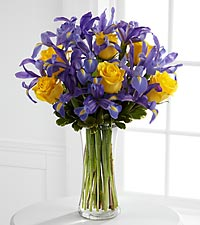 Le bouquet Sunlit Treasures<sup>™</sup> de FTD® - VASE INCLUS