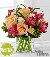The FTD® All A Glow™ Bouquet by Better Homes and Gardens® - VASE INCLUDED