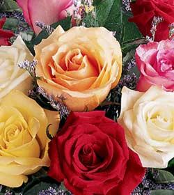 Bouquet de roses personnalisé