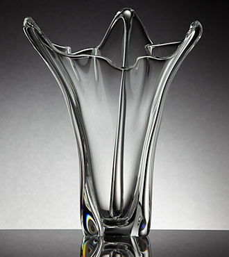 Steuben Glass Flower Arrangements Crystal Vases Ftd