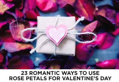 Ways to use Rose Petals