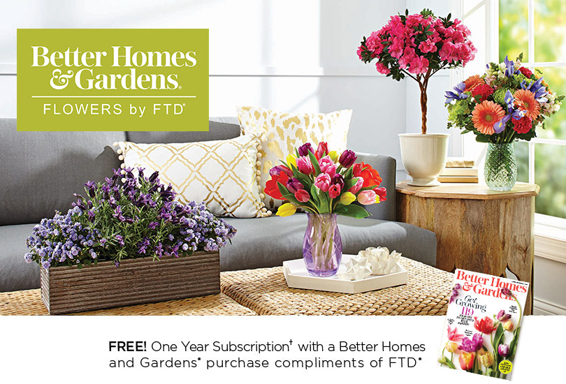 Flowers and Plants with Better Homes and Gardens FTDcom