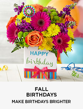 Fall Birthdays