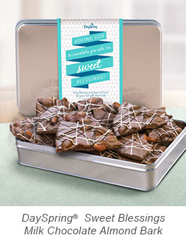 Sweet Blessings Milk Chocolate Almond Bark