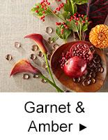 Garnet & Amber