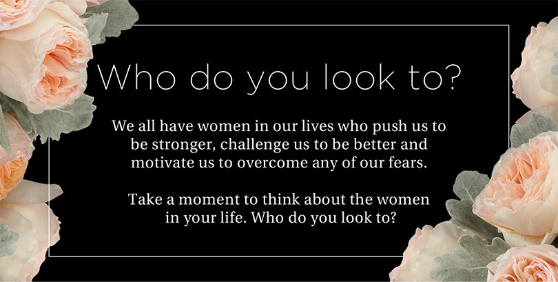 Who do you look to?