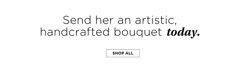 Send her an artistic handcrafted bouquet today