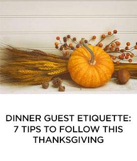 Dinner Guest Etiquette